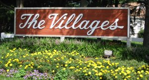 The Villages Howell sign